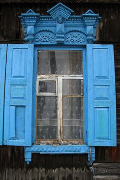 Russia Blue window by tutam, via Flickr