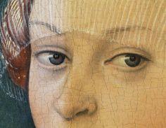 Detalle del proceso de limpieza. El Thyssen restaura y exhibe 'Hércules en la corte de Onfalia', del desafortunado Hans Cranach