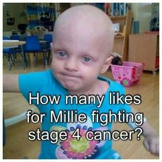 Pin and pray for Millie, keep fighting little angel.