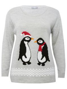 Plus penguin jumper