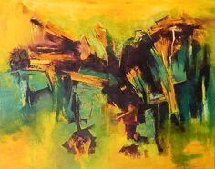 """Brazil"" - Fernando Gastron - Oleo sobre tela - 80 x 100 cm. - www.esencialismo.com"