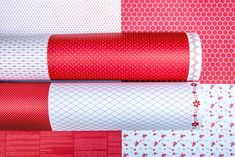 Let's get back to basics with 5 Basic Essentials in the popular Red Pop colour. Happy Hearts, Stripey Stripes, Flourish & Sassy Stars & Dreamy Dots, perfect to brighten any project. Back To Basics, Happy Heart, Over The Moon, Card Maker, Pattern Paper, Scrapbook Paper, Color Pop, Core, Essentials