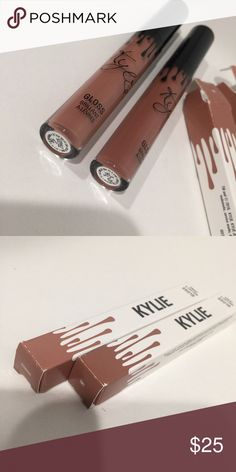 Kylie lipgloss Like and Literally colors. these were only tried on once I received but didn't like the colors. Still new! Kylie Cosmetics Other