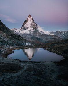 Zermatt, Switzerland via @chrispoops / Instagram
