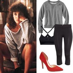 Fashion Flashback! Dress Up In '80s and '90s Movies-Inspired Costumes for Halloween - Alex Owens from Flashdance (1983) - from InStyle.com