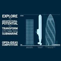 Typhoon Class Submarine Architecture Design Competition 30 St Mary Axe, Seagram Building, Open Architecture, Nuclear Submarine, Angeles, Concept Diagram, Design Competitions, Submarines, Open Concept