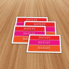 Hatley Standard Vinyl Stickers Size 100x50mm  #stickercanada #standardvinylstickers #vinylstickers #outdoorstickers #stickerprinting #castickers #stickerca #ontariostickers #canadastickers #vinylprinting