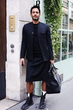 man skirt+suit - Pesquisa Google