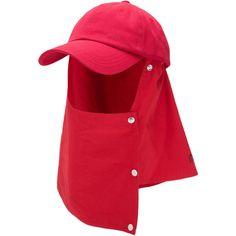 Raf Simons New Order Technique Shield Flap Baseball Cap - Red Reds Baseball, Baseball Cap, Raf Simons, Red Hats, Mens Caps, Album Design, Hats For Men, Caps Hats, Mens Fashion