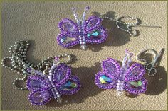 Free Beaded Butterfly Pattern featured in Bead-Patterns.com Newsletter