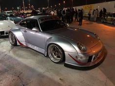 RWB at Tarumi parking Rauh Welt, Wide Body, Porsche 911, Dream Cars, Bodies, Singer, Japan, My Style, Vehicles