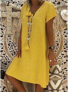 veryvoga, als Weltmarktführer im Online-Einzelhandel, bietet eine große Auswah. Boho Summer Dresses, Boho Dress, Beach Dresses, Dress Summer, Tumblr Shopping, Elegant Dresses, Casual Dresses For Women, Ladies Dresses, Women's Dresses