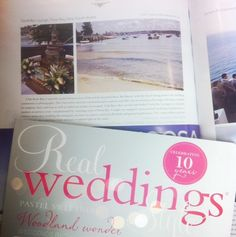 Real Weddings Style Magazine ~ Annual Collector's Edition 2012 / 2013. Page 122. Club Rose Bay's Deck Bar Lounge. Rose Bay, Deck Bar, Bar Lounge, 2013, Wedding Styles, Real Weddings, Pastel, Magazine, Club