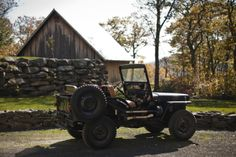 This would be my car in my dream life, on my dream farm, in the middle of nowhere.