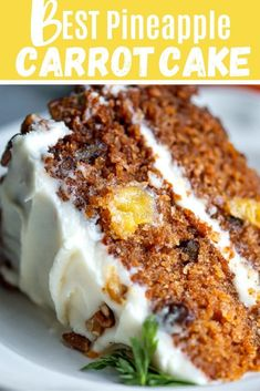 Old fashioned carrot cake with fresh pineapple that's is moist and delicious. Just the way Grandma used to make it!Moist Pineapple Carrot cake #pineapplecarrotcake #carrotcake #carrotcakerecipe #moistcarrotcake #oldfashionedpineapplecarrotcake