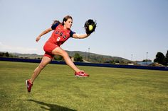 Jessica Mendoza- so sad that we won't be seeing Team USA play at the Olympics this summer :( Jessica Mendoza, Fastpitch Softball, The Outfield, Team Usa, Athletics, Girl Crushes, Olympics, Beast, Diamonds