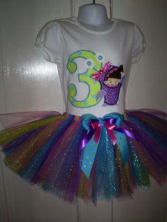 Monsters Inc.Bling BOO Inspired Birthday by SprinkledSweetDesign, $60.00