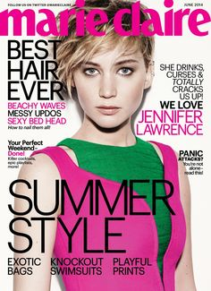 Jennifer Lawrence for Marie Claire US
