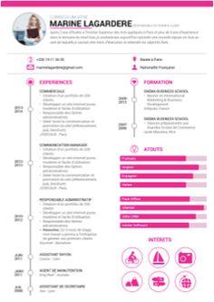 L'Origine Du Mot Curriculum Vitae – Site Afficher l'image d'origine Resume Tips, Resume Cv, Resume Examples, Cv Design Template, Cv Resume Template, Work On Writing, Writing Tips, Cv Pour Stage, Cv Ingenieur