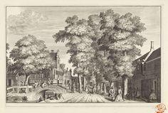 Gezicht op de Koepoortsweg te Hoorn, Jan Goeree, 1728