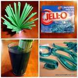How to make Jello worms - lots of pictures but no real directions...