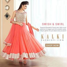ANARKALIS FOR JUST ABOUT ANY OCCASSION!  These chic and stylish anarkalis are hand picked by our stylist just for you! Flaunt your inner diva in these elegant anarkali suits!  Shop: http://tiny.cc/y3xrrx