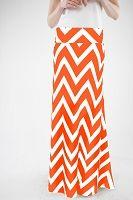 spriggss16@gmail.comOrange Chevron Skirt