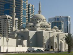 Al Noor Mosque, Sharjah, UAE.