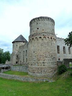 Medieval Castle - Cesis, Latvia
