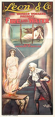 Leon, Fire and Water, 1915