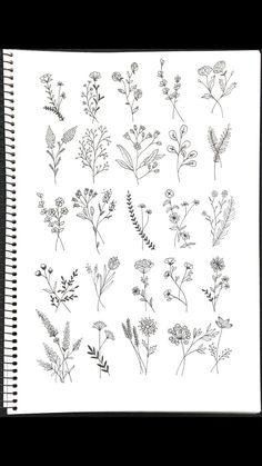Wildflower Tattoo Ideen Flower Tattoo Designs - flower tattoos - The World Compass Tattoo, Hamsa Tattoo, Arm Tattoo, Tattoo Art, Live Tattoo, Tattoo Moon, Tattoo Outline, Trendy Tattoos, Cute Tattoos
