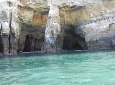 La Jolla Sea caves, La Jolla, CA.  You can swim, snorkel, scuba dive, kayak or hike.  Beautiful!