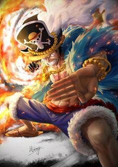 ArtStation - ONE PIECE 20TH - 火拳銃LUFFY, Liang Jian