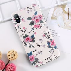 Moskado Soft Tpu Flower Case For iPhone 8 Plus X XS Rose Floral Phone Case For iPhone X 6 6S 7 8 Plus TPU Cover Outfit Accessories From Touchy Style | Cute Phone Cases, Flower, For Girl, For Women's, iPhone 6, iPhone 6 Plus, iPhone 6s, iPhone 7, iPhone 7 Plus, iPhone 8, iPhone Cases, iPhone XS, iPhone XS MAX, Plant, TPU. | Free International Shipping.