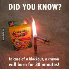 Alternative for candles.