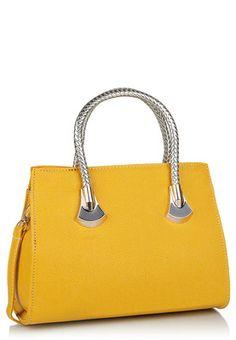 Ladida Yellow Handbag