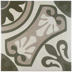"Found it at Wayfair - Serdi 13"" x 13"" Ceramic Field Tile in Grey"