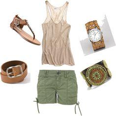 Brown/Ivory/Green..Cute!