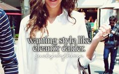 And hair, and beauty, and legs, and boyfriend... Yeah basically wanting everything like her