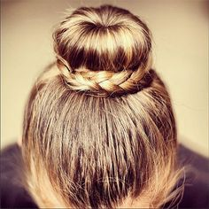 Braided bun + more #braid inspiration from Instagram!