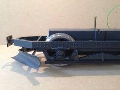 Ed's Garten Bahn Custom designed and 3D printed bogie for a home-built model.