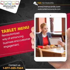 Replace your #PaperMenu with #TabletMenu app - reduce reprinting & other operational costs.