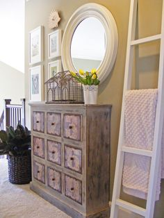 great design for small hallway @Mini Manor Blog