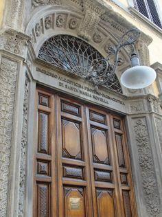 Officina Profumo Farmaceutica di Santa Maria Novella - Firenze, Italy. Main entrance