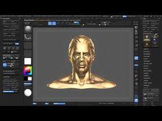 Zbrush Matcap Baking. - YouTube