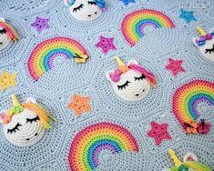 Click below link for free pattern… Crochet Blanket Pattern – Unicorn Utopia – Crochet Pattern Boho Crochet, Crochet Motifs, Crochet Flower Patterns, Crochet Blanket Patterns, Crochet Flowers, Crochet Hooks, Knitting Patterns, Pattern Flower, Chunky Crochet