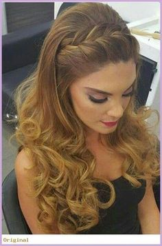 Trendy Frisuren Lange lockige Hochzeit Up Dos … – wedding hairstyles Trendy Hairstyles Long Curly Wedding Up Dos … – wedding hairstyles – Braided Hairstyles For Wedding, Box Braids Hairstyles, Trendy Hairstyles, Wedding Braids, Hairstyle Ideas, Hairstyle Braid, Braided Wedding Hair, Hair Ideas, Goth Hairstyles