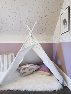 Star light, star bright! A twinkling nursery designed by Team SRD Lindsay Mens Craig for her beautiful baby girl Cameron - up now on the website!