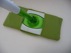 Home Made Lovely: Reduce, Reuse, Recycle - Swiffer Cover