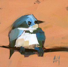 Pájaro de Wren núm. 29 grabado por Moulton 5 x 5 por prattcreekart